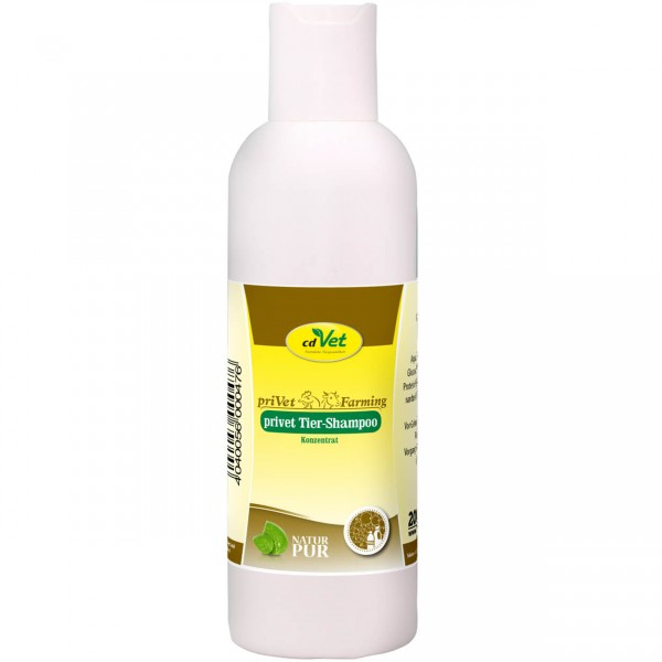 cdVet priVet Tiershampoo Konzentrat 200 ml