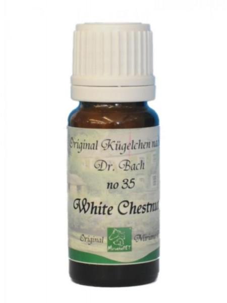 Bachblüten 35 White Chestnut Globuli 10g