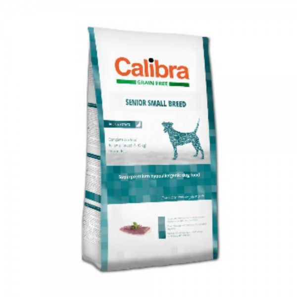Calibra Dog Grain Free Senior Small Breed