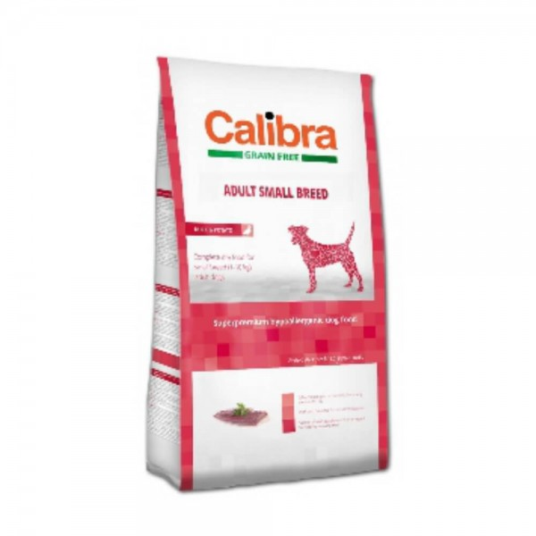 Calibra Dog Grain Free Adult Small Breed
