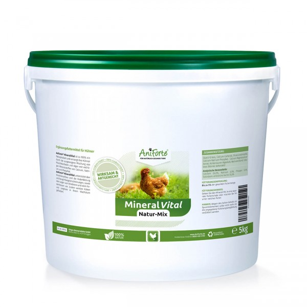 AniForte Mineral Vital Natur-Mix Hühner 5 kg