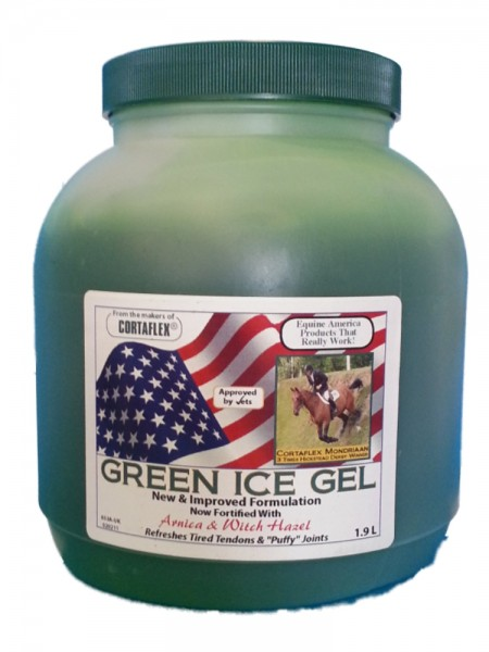 Equine Green Ice Gel
