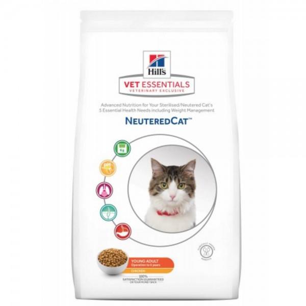 Hills VetEssentials Feline Neutered Cat Young Adult 8kg