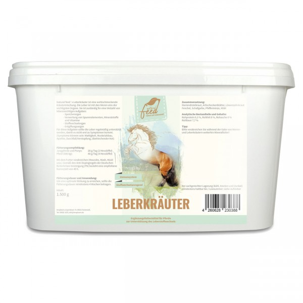 Natural Feed Leberkräuter 1500g