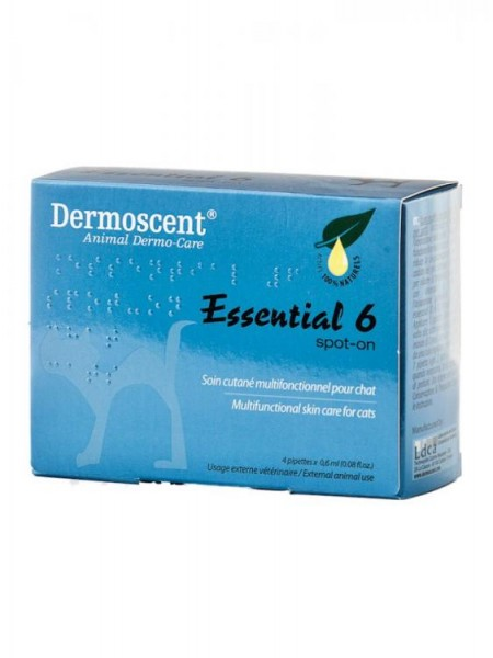 Dermoscent Essential 6 spot-on Katze 1 Amp.