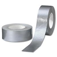 Gewebeklebeband Silber