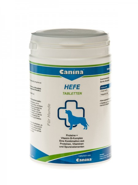 Canina Hefe Tabletten