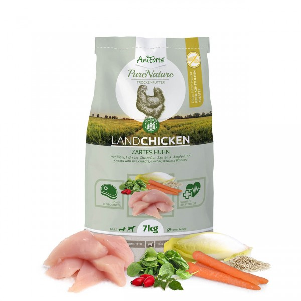 AniForte Pure Nature Land Chicken Trocken Huhn Reis