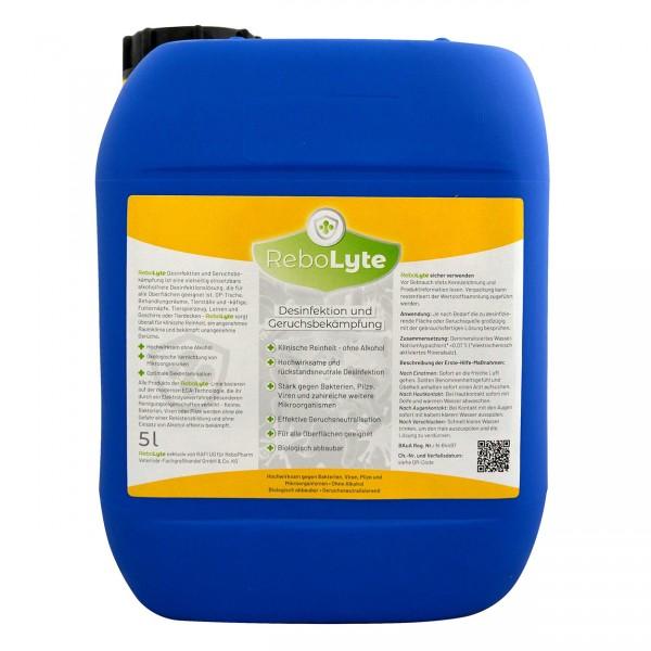 ReboLyte Desinfektion und Geruchsbekämpfung 5000 ml