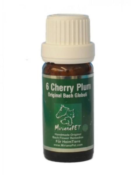 Bachblüten 6 Cherry Plum Globuli 10g