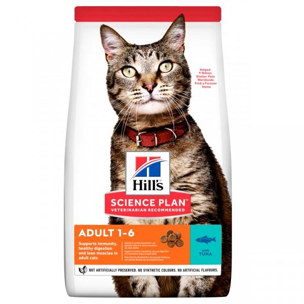 Hills Science Plan Katze Adult Thunfisch 10kg