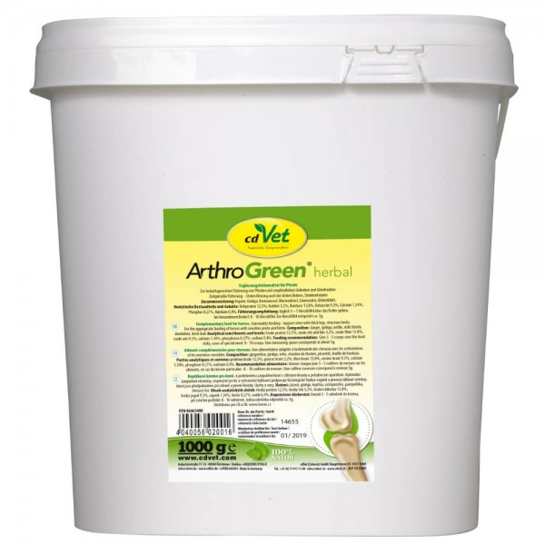 cdVet ArthroGreen herbal Pferd