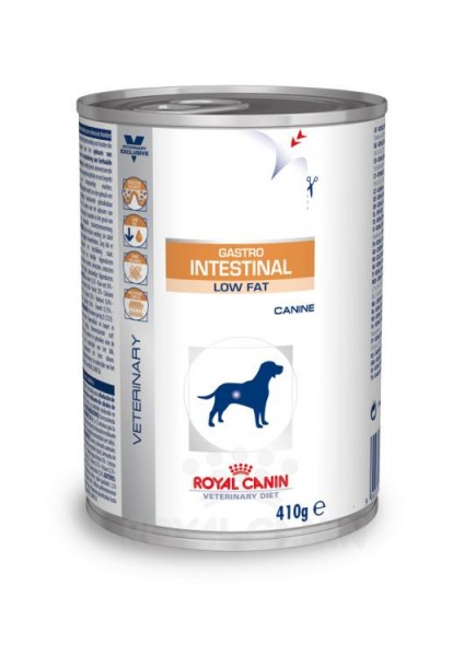 Royal Canin Hund Gastro Intestinal low fat 12x410g