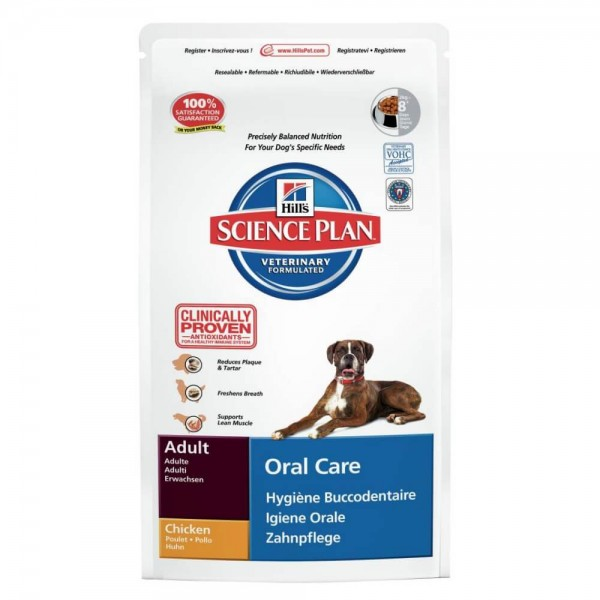 Hills Canine Adult Oral Care Huhn