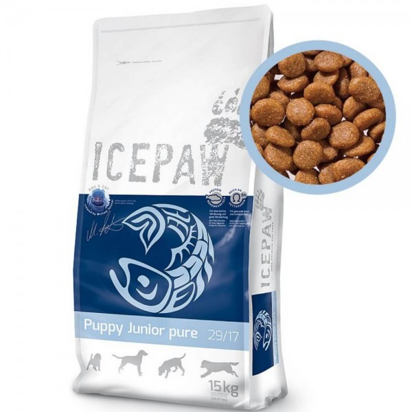 Icepaw Puppy Junior Pure 15kg