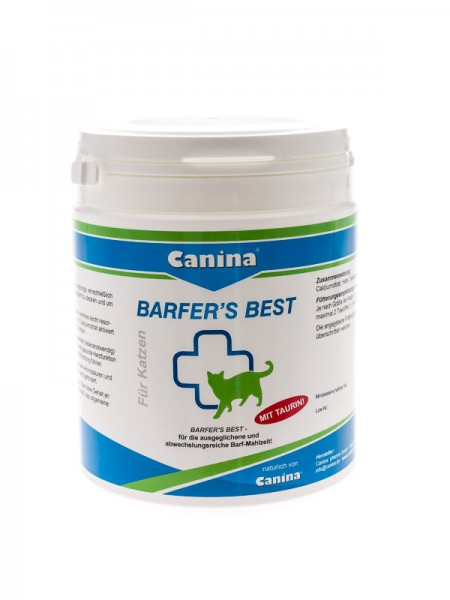 Canina Barfers Best for Cats