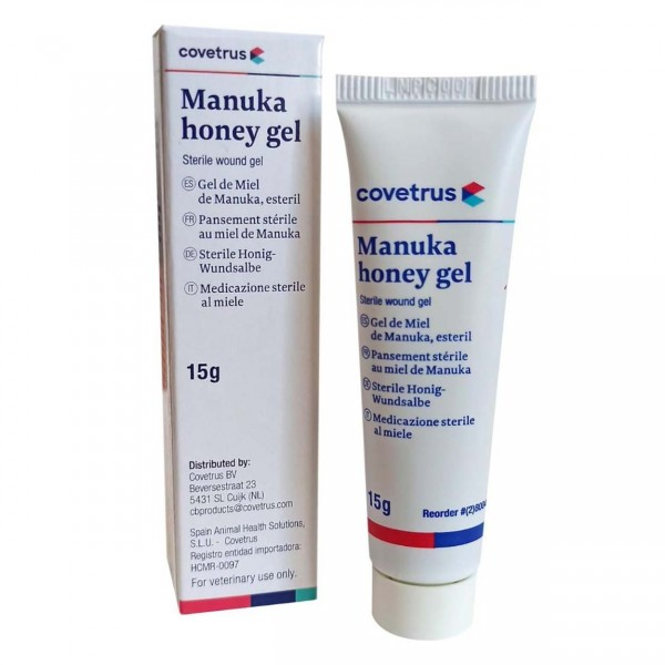 CVet Manuka Honey Gel 15g