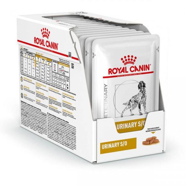 Royal Canin Hund Urinary S/O 12x100g Thin Slices