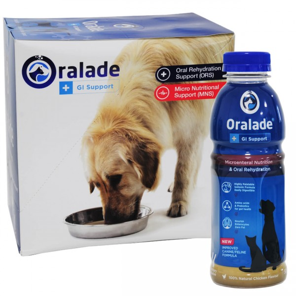 Oralade Hund Katze GI Support