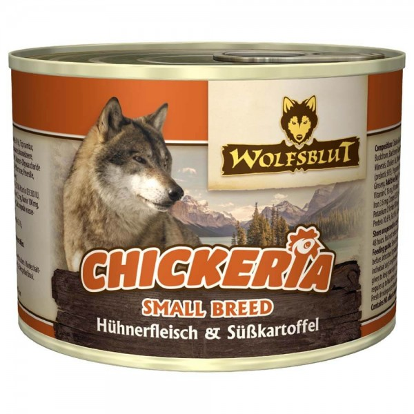Wolfsblut Chickeria mit Süßkartoffel Small Breed