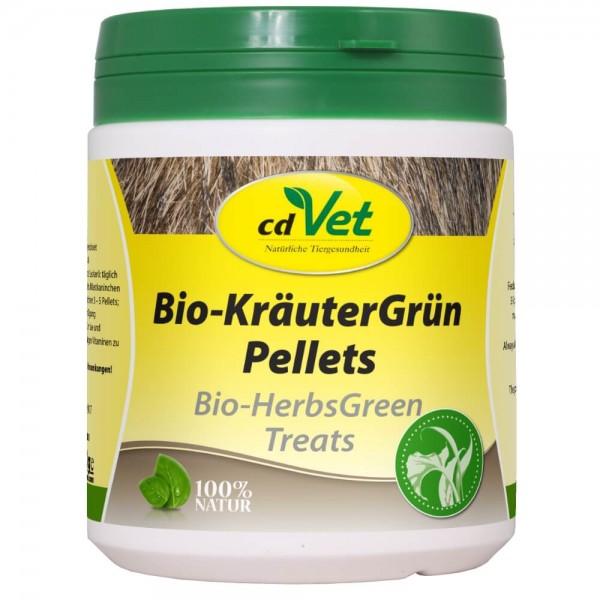 cdVet KräuterGrün Pellets