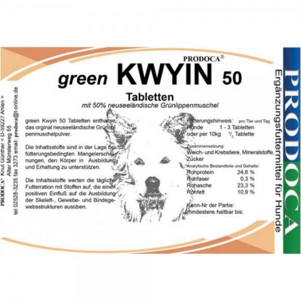 Prodoca green Kwyin 50 Hund