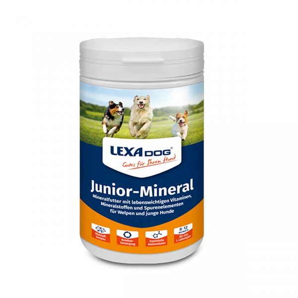 Lexa Dog Junior-Mineral 1kg