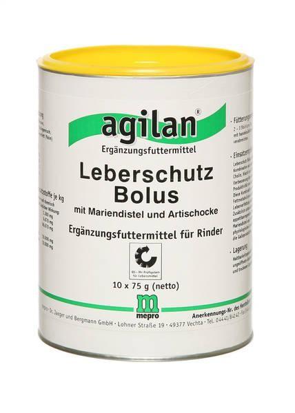 agilan Leberschutz Bolus 10x85g