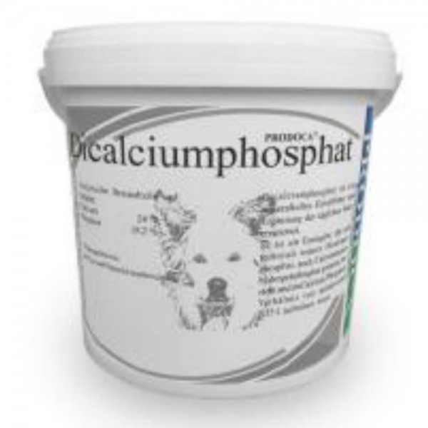 Prodoca Dicalciumphosphat Pulver Hund