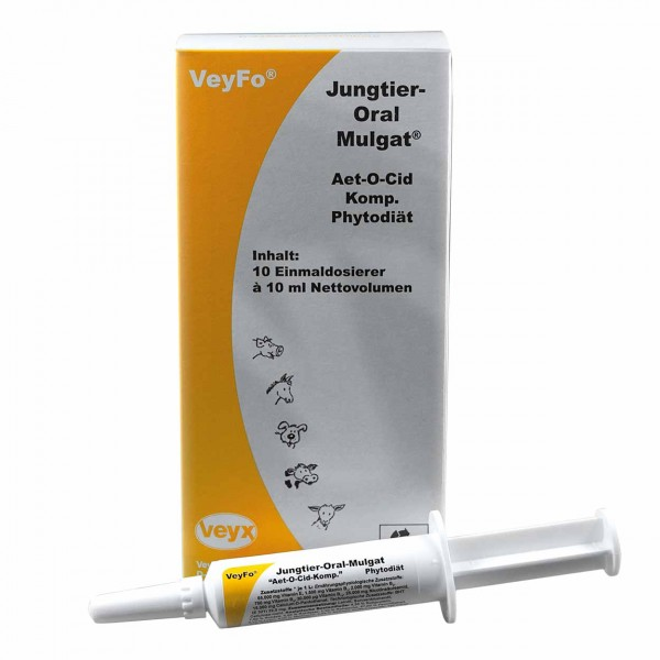 VeyFo Jungtier-Oral-Mulgat 10x10ml