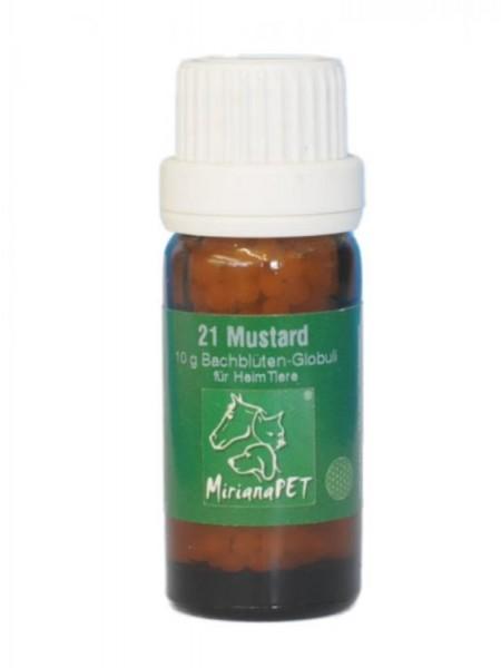 Bachblüten 21 Mustard Globuli 10g