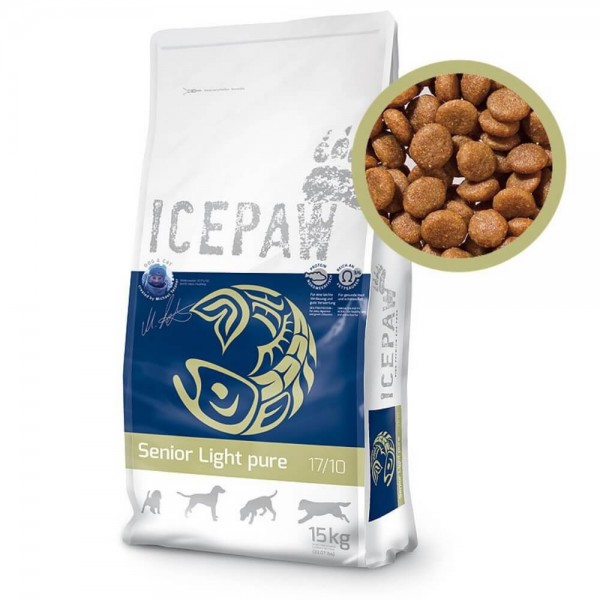 Icepaw Senior Light Pure 15kg