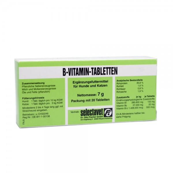 B-Vitamin-Tabletten