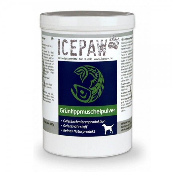 Icepaw Grünlippmuschelpulver 500g