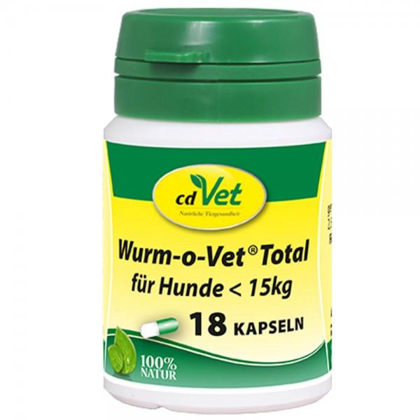 cdVet Wurm-o-Vet Total Hund unter 15 kg