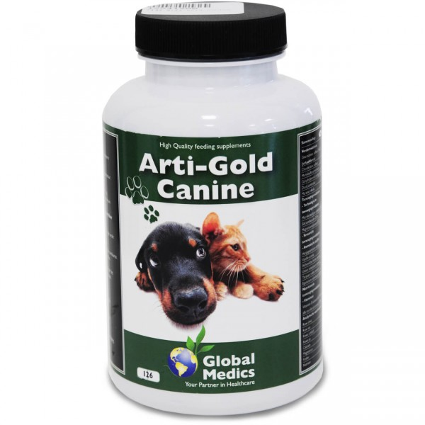 Arti-Gold Canine 126 Tabs