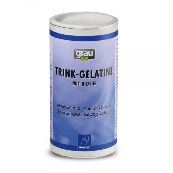 Grau Trink-Gelatine