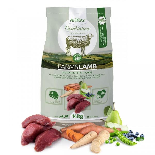 AniForte Pure Nature Farms Lamb Trocken Lamm Süßkartoffeln