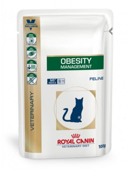 Royal canin Katze Obesity management 48x100g