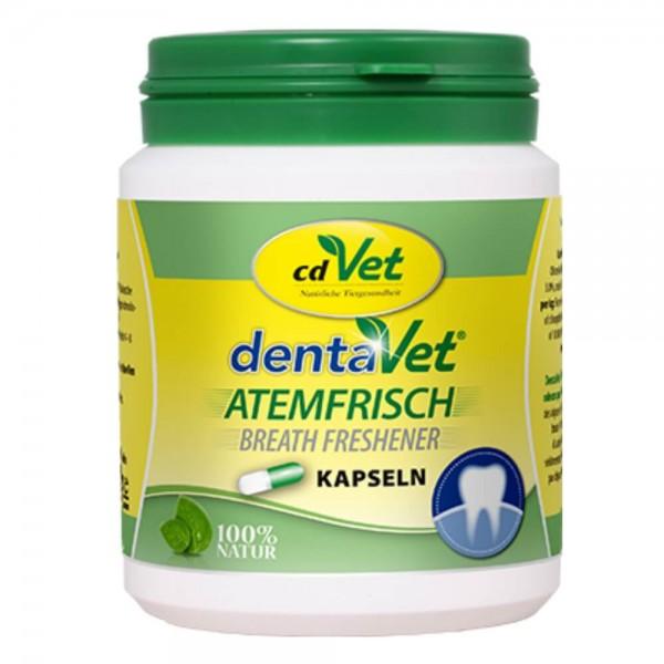 cdVet dentaVet Atemfrisch Kapseln MHD 03-2020