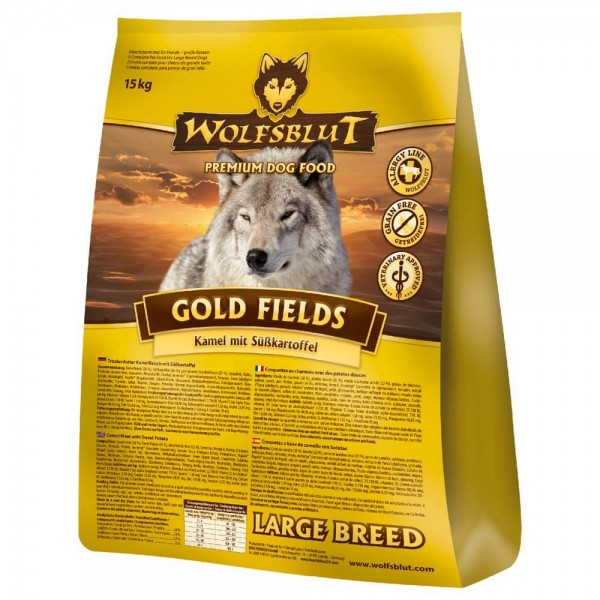 Wolfsblut Gold Fields large breed