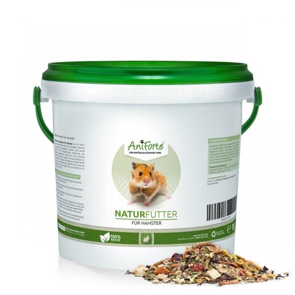 AniForte Naturfutter Hamster 1kg