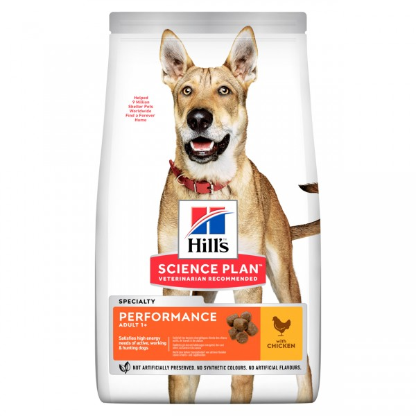 Hills Science Plan Hund Adult Performance 14kg