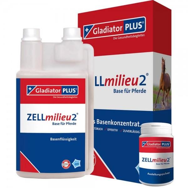 Gladiator Plus ZELLmilieu2 Base + Pulver Pferd