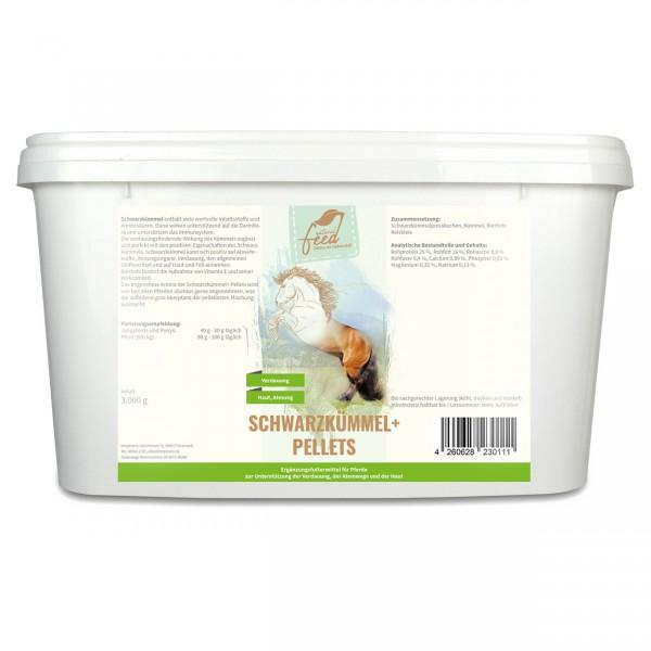 Natural Feed Schwarzkümmel+ Pellets 3000g