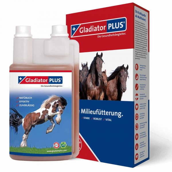 Gladiator Plus Pferd 1000ml
