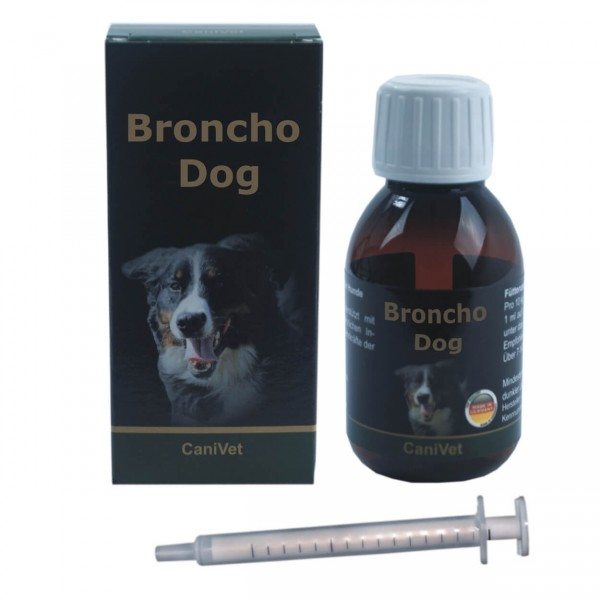 Canivet Broncho Dog 100ml