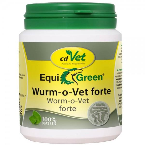 cdVet EquiGreen Wurm-o-Vet forte