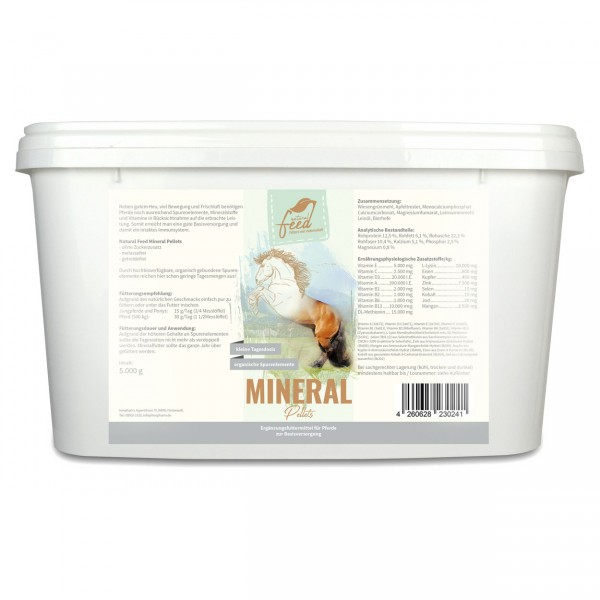 Natural Feed Mineral Pellets 5000g