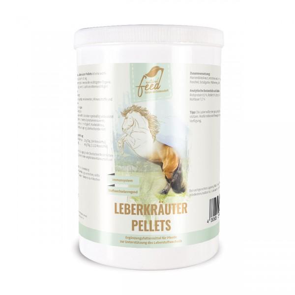 Natural Feed Leberkräuter pelletiert 1400g